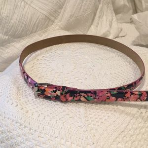 NWT Ann Taylor Floral Belt size small